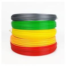 PLA-Filament für 3D-Stifte 5 Farben 50g / 17m / 1,75mm - PACKUNG 2