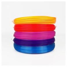PLA-Filament für 3D-Stifte 5 Farben 50g / 17m / 1,75mm - PACKUNG 4